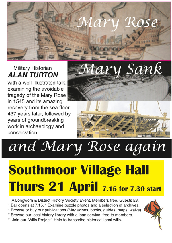 mary rose advert