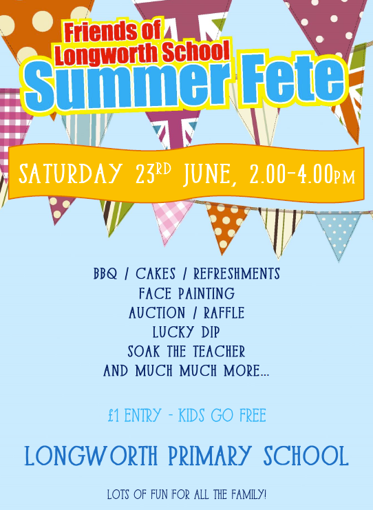Longworth summer fete 2018