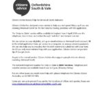 Citizens advice Help to Claim universal credit